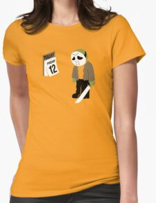 Friday The 13th Parody Womens Fitted T-Shirt
