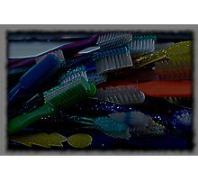 the artist brush Photographic Print