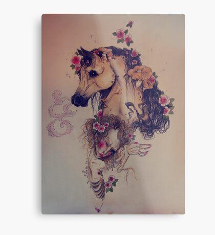 equine kin Metal Print
