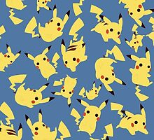 Pikachu's in Free Fall by olympicos