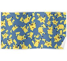 Pikachu's in Free Fall Poster