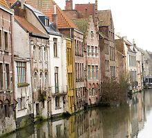 Ghent Reflection by Patsy Smiles