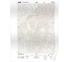 USGS Topo Map Oregon Marial 20110713 TM Poster
