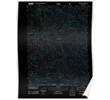 USGS Topo Map Oregon Oregon Caves 20110829 TM Inverted Poster