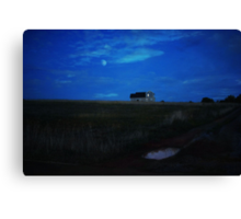 A little house in the field - Forest, Va Canvas Print