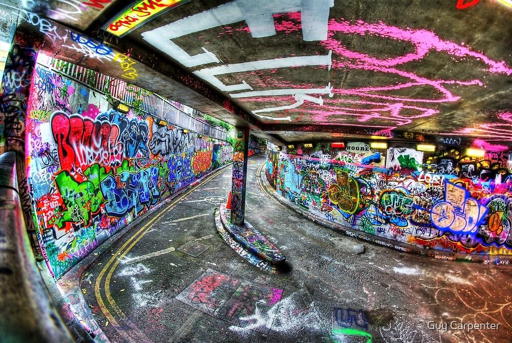 """Elk"" Graffiti, London by Guy Carpenter"
