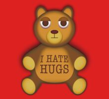 Teddy hates hugs One Piece - Short Sleeve