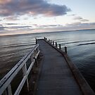 A bend in the fishing pier by Adriano Carrideo