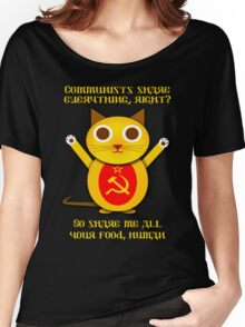 Comrade cat Women's Relaxed Fit T-Shirt
