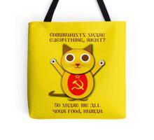 Comrade cat Tote Bag