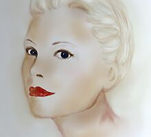 Portrait Grace Kelly by Trish Loader