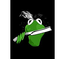 Sweeney Frog Photographic Print