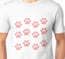Pink Paws Unisex T-Shirt