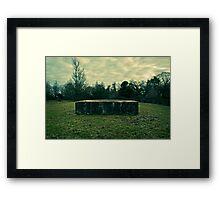 M.O.D Rock Framed Print