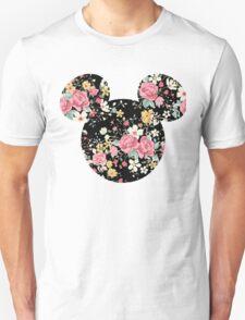 Exotic Blossoms mickey head T-Shirt