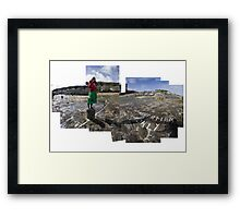 Photographing Mousehole with a Diana Camera Framed Print