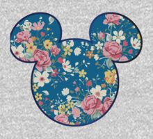 Exotic Blossoms mickey head by WaterClipMaker
