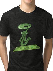 dolar1 verde Tri-blend T-Shirt
