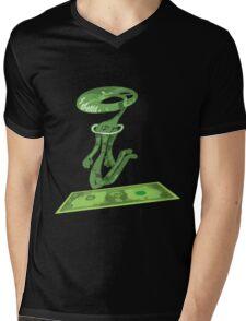 dolar1 verde Mens V-Neck T-Shirt