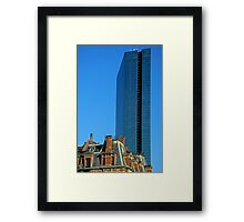 The Hancock,  Boston, USA. Framed Print