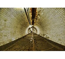 Greenwich Tunnel, London Photographic Print