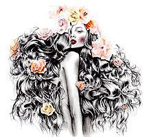 Selina Goddess Photographic Print
