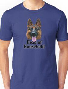 German Shepard: Head of Household Unisex T-Shirt