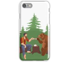 Gentleman's Tea - Color iPhone Case/Skin