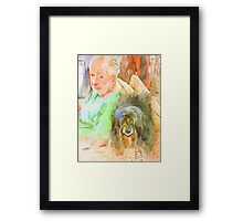 Jer & Stella (Soulmates) Framed Print