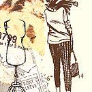 girl with handbag, 2010 by Thelma Van Rensburg