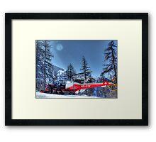 The Air Ambulance (HDR) Framed Print