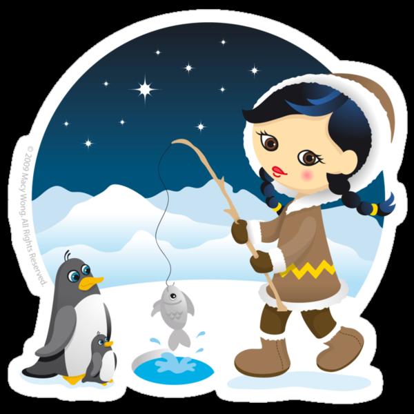 Eskimo girl by Macy Wong