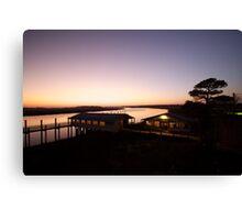 Sunset near Folly Beach, SC Canvas Print