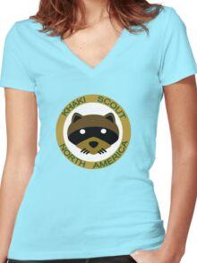 Join the KSNA Women's Fitted V-Neck T-Shirt