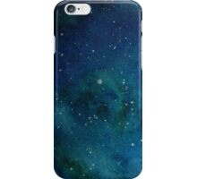 Starry Night Watercolour 1 iPhone Case/Skin