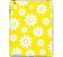 Yellow Fun daisy style flower pattern iPad Case/Skin