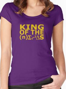 King of the Nerds Women's Fitted Scoop T-Shirt