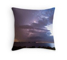 Power in motion Throw Pillow