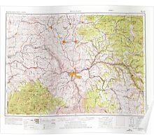 USGS Topo Map Washington Pullman 243315 1955 250000 Poster