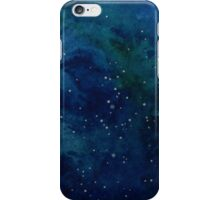 Starry Night Watercolour 2 iPhone Case/Skin