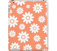 Coral Fun daisy style flower pattern iPad Case/Skin