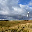 Green Knowes Wind Farm 8 by Peter Valente