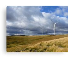 Green Knowes Wind Farm 8 Canvas Print