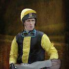 Portrait of a Jockey  by Catherine Hamilton-Veal  ©