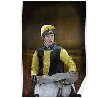 Portrait of a Jockey  Poster