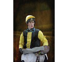 Portrait of a Jockey  Photographic Print