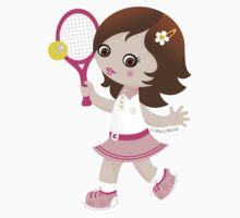 Tennis girl by Macy Wong