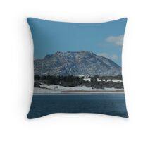 Granite Mountain- Prescott, AZ Throw Pillow