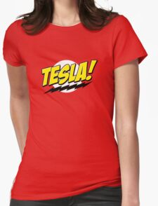 Tesla! Womens Fitted T-Shirt