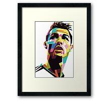 CR7 art Framed Print